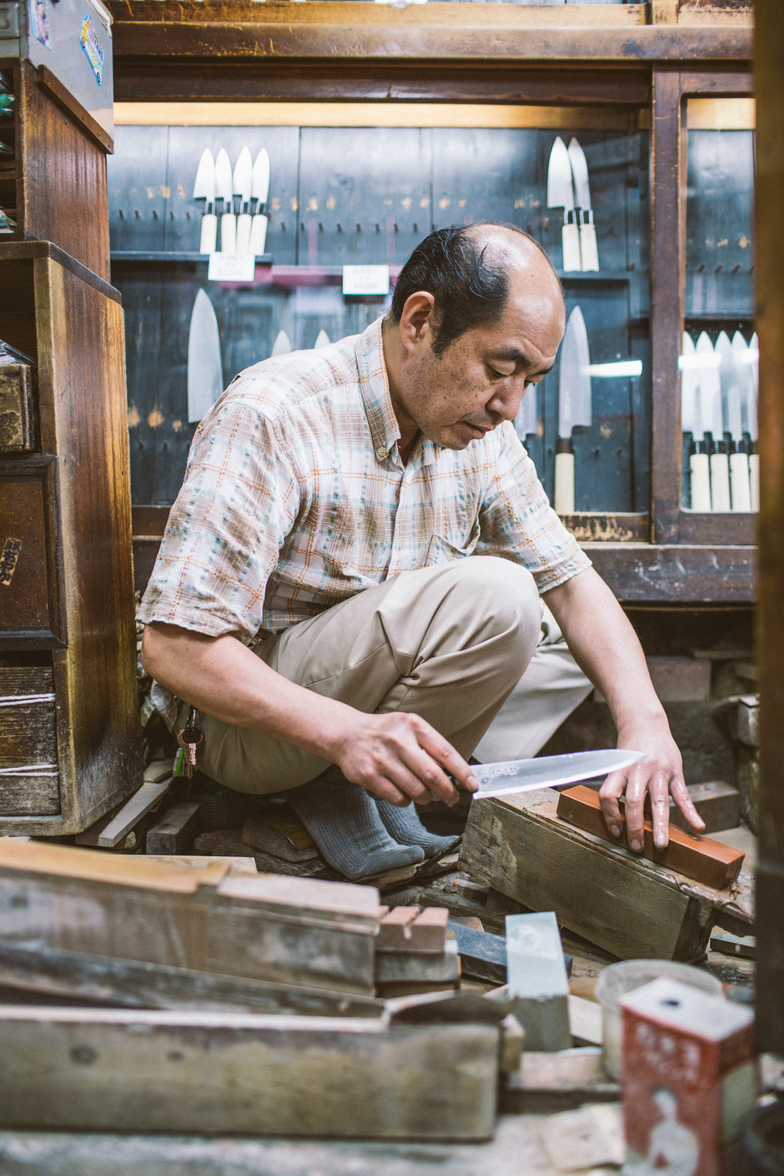 Japan - Knife Makers