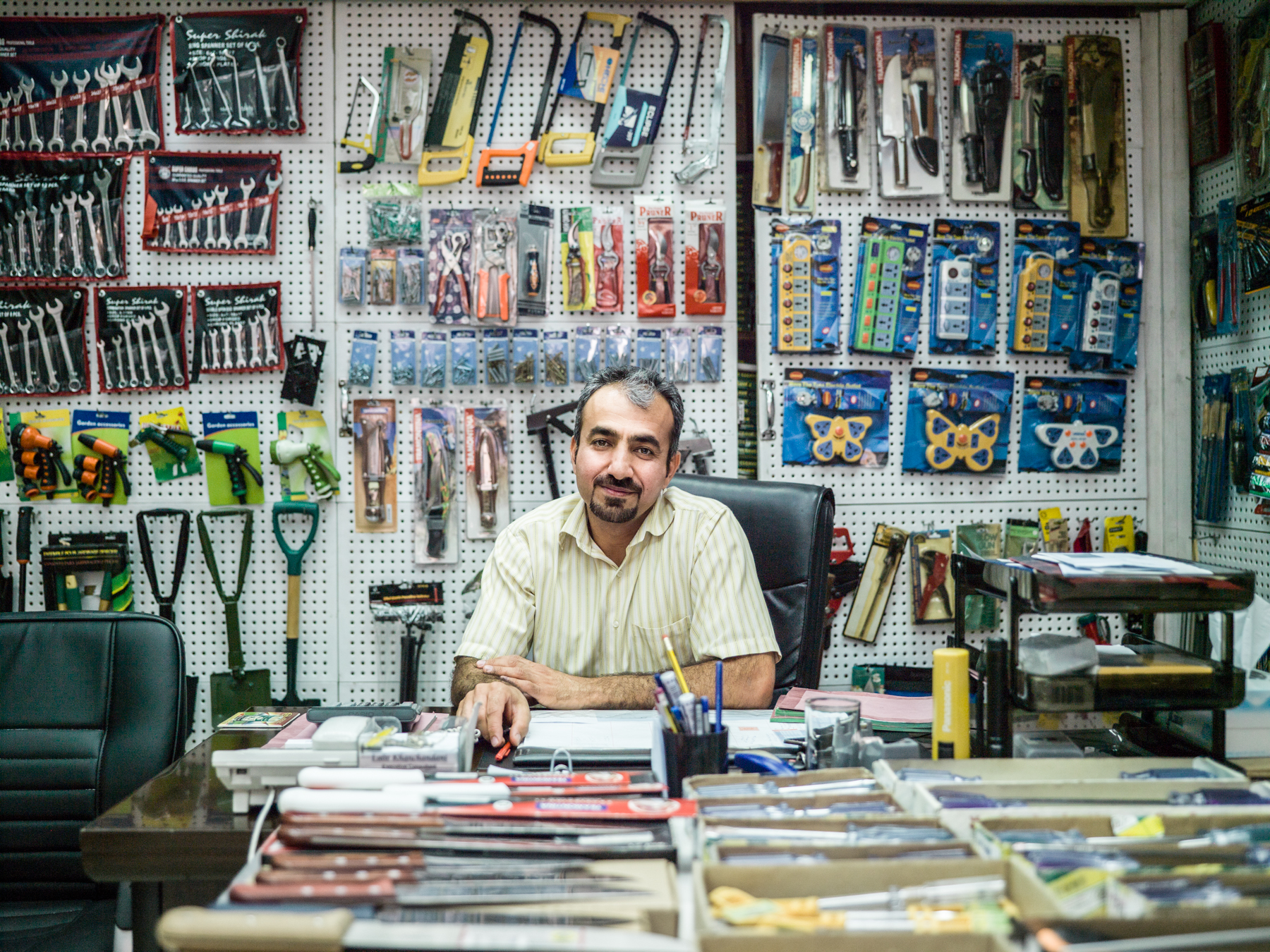 Shopkeeper in Dubai