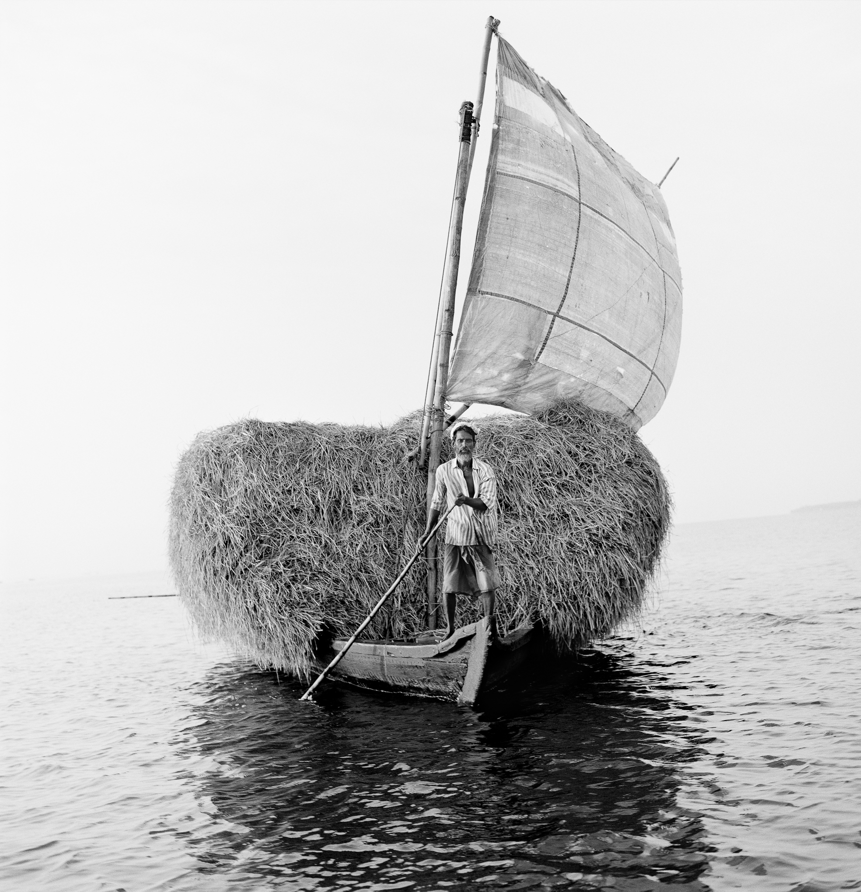 Boat with Hay