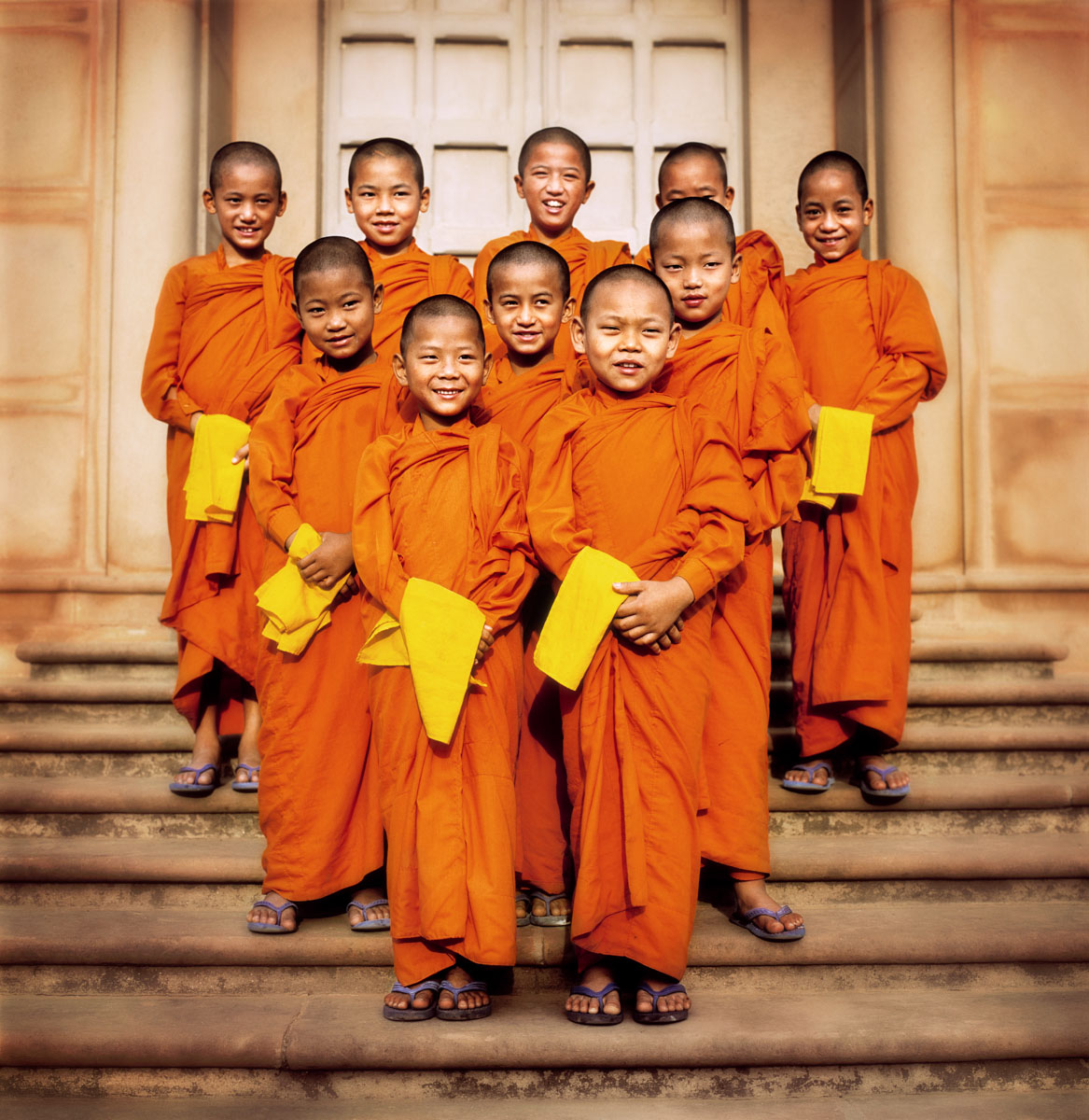 Thailand - Young Monks