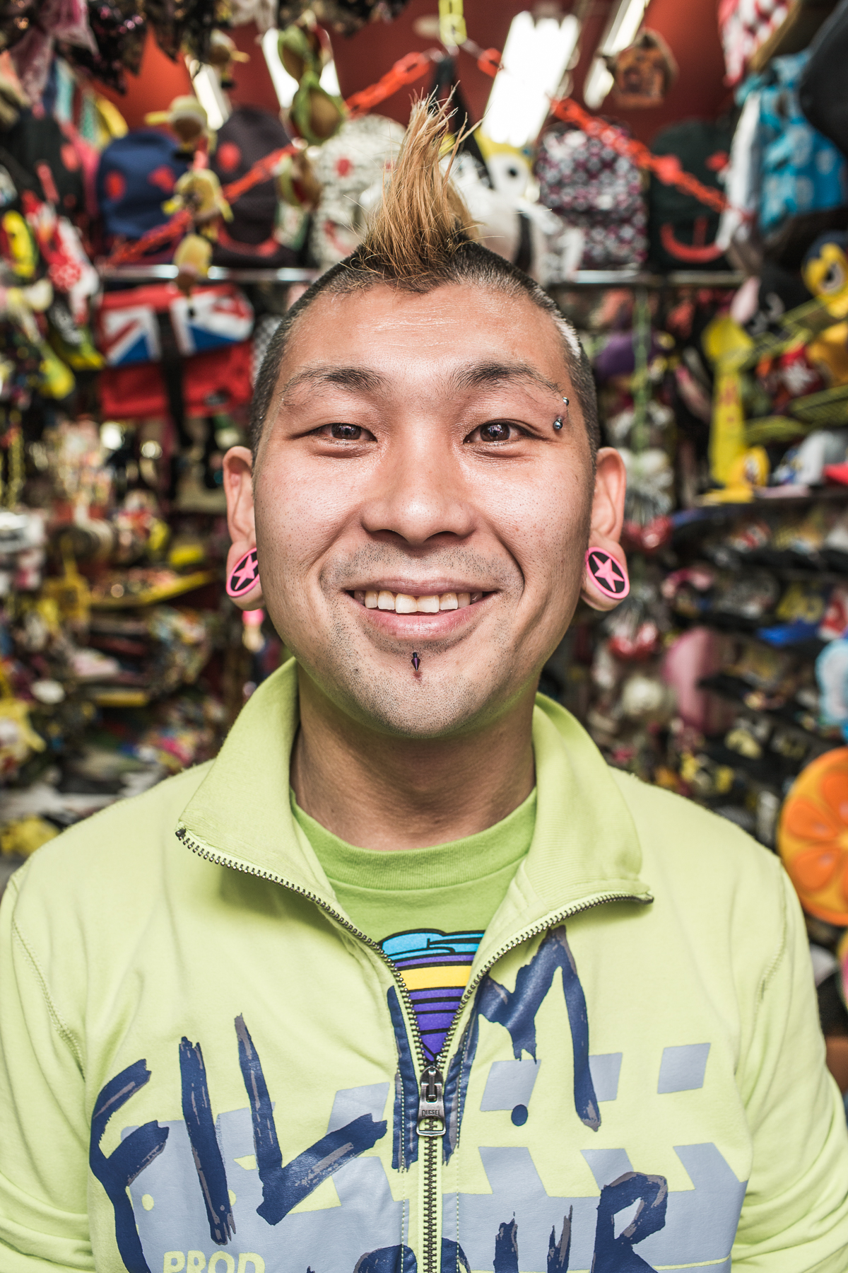 Japan - market portraits