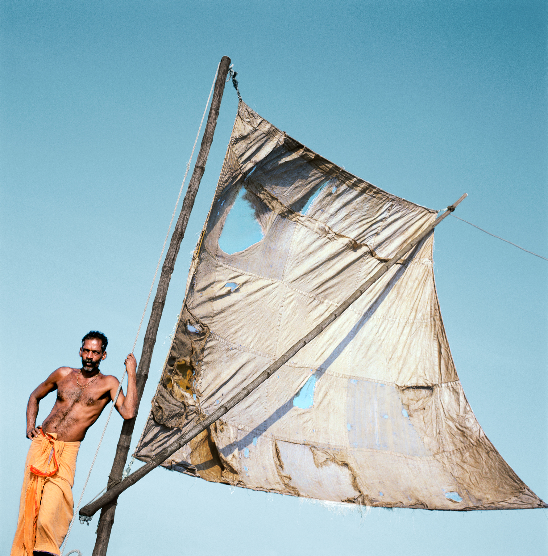 Man with Sail