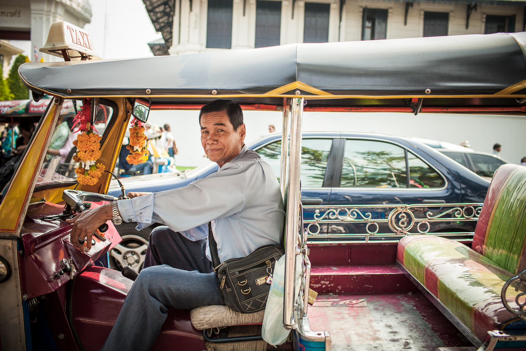 Driver in Thailand